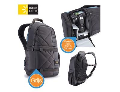 CaseLogic 单反相机和ipad背包