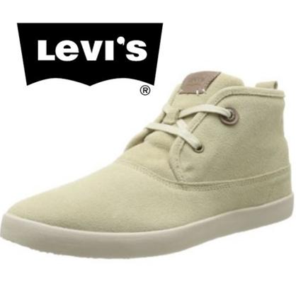 Levi's 潮流男士中帮休闲鞋