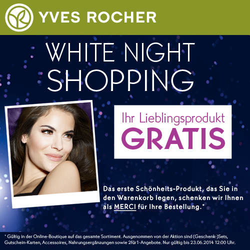 Yves-Rocher购物满10欧