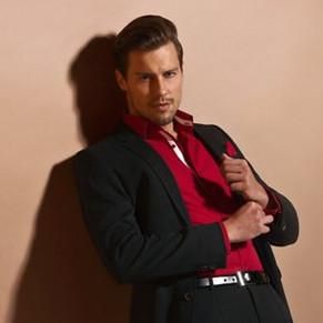 VINCENZO BORETTI 男士衬衣领带