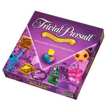 Hasbro Trivial Pursuit孩之宝桌游玩具