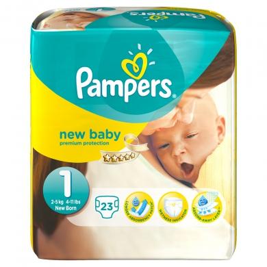 Pampers帮宝适新生儿纸尿裤