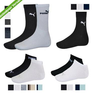 puma各类棉袜12双