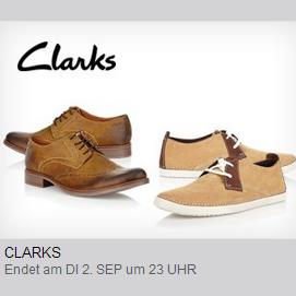 Clarks男鞋闪购
