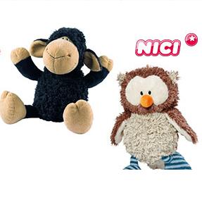 欧洲人气第一的质感毛绒玩具NICI