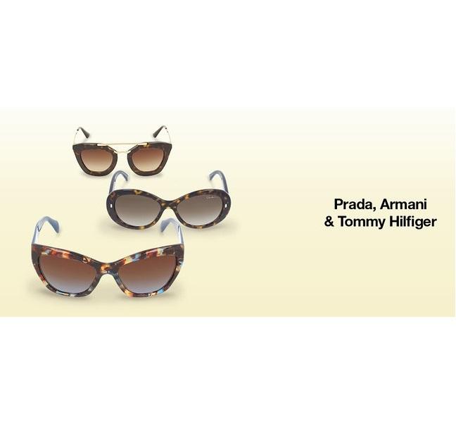 Prada/Gucci/Armani等奢牌太阳镜/镜框