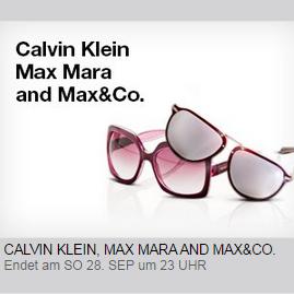 CK/Max Mara/Max&Co.太阳镜