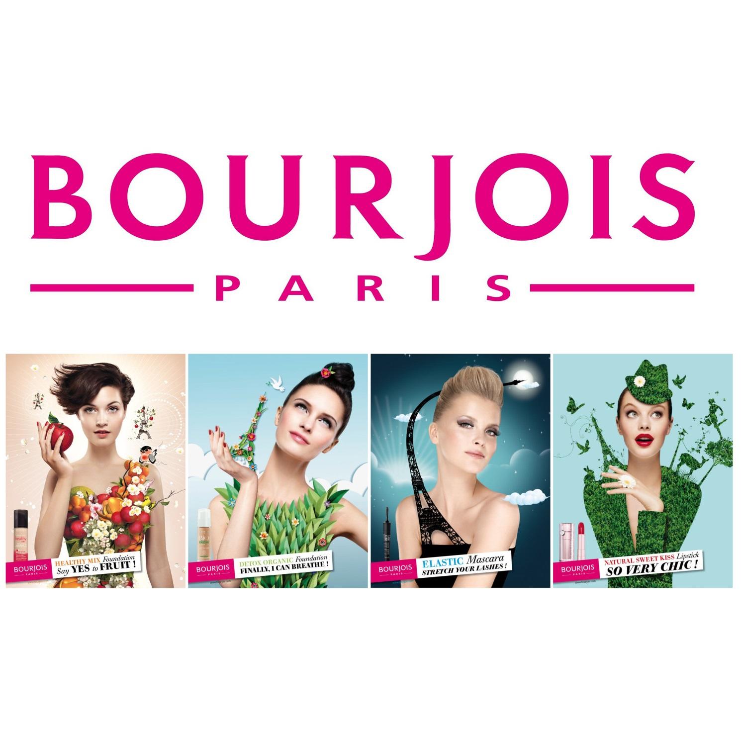 畅销150年 Bourjois妙巴黎美妆产品