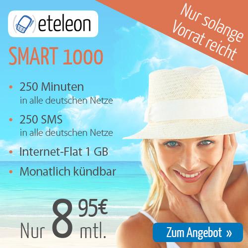 eteleon SMART 1000手机卡套餐