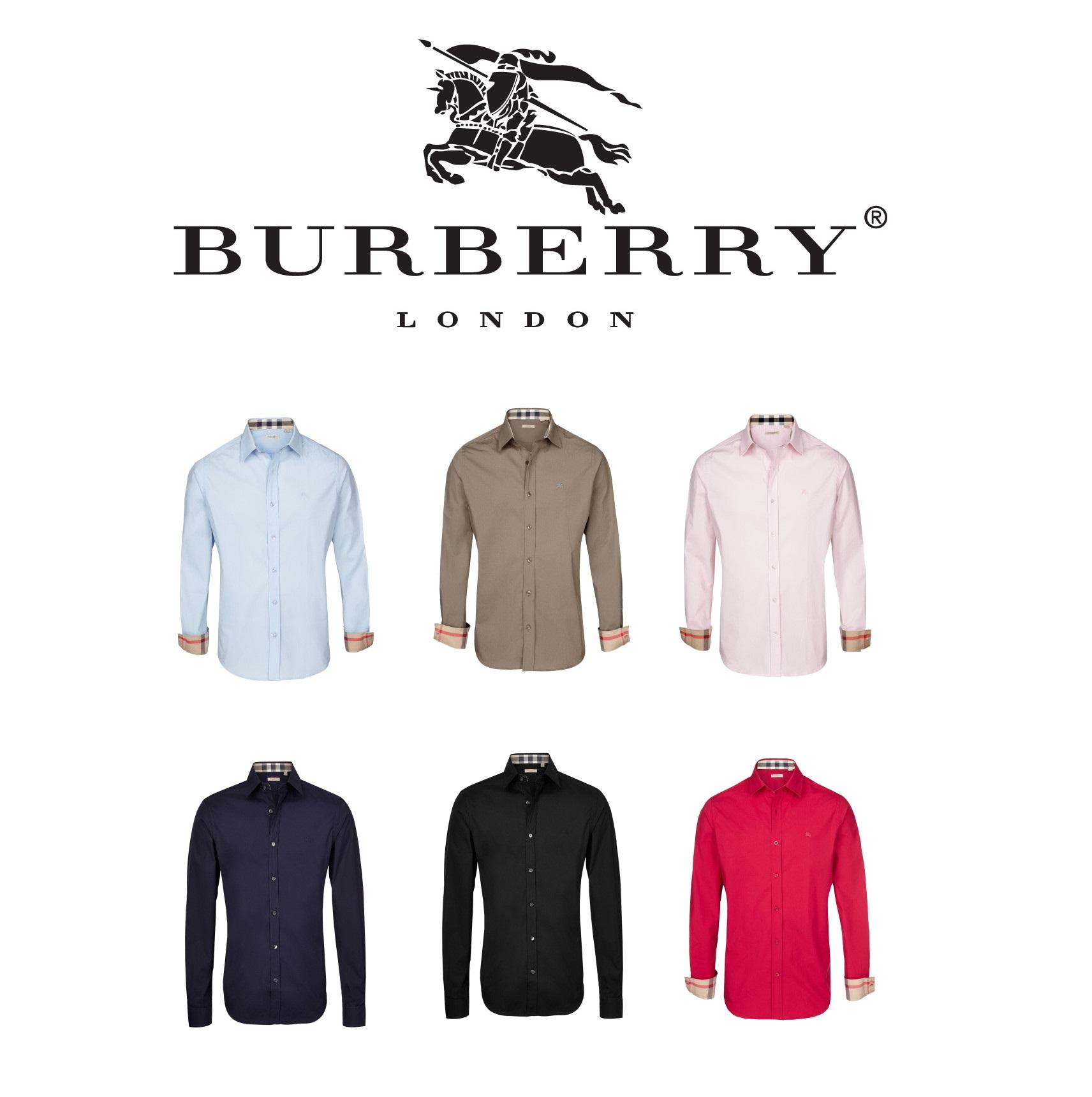 Burberry男士衬衣 多色可选