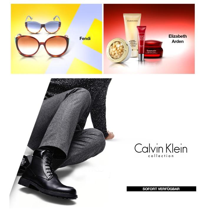 Elizabeth Arden雅顿护肤品/Fendi太阳镜/Calvin Klein Collection男鞋