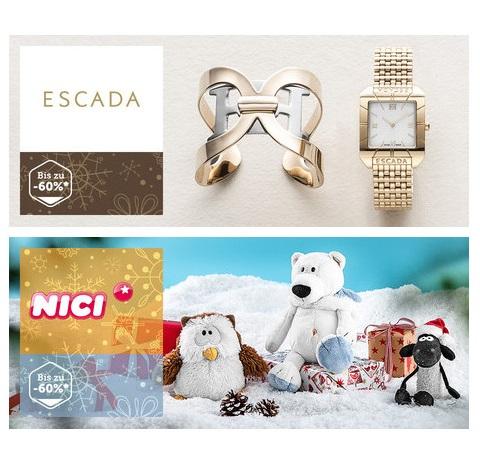 德国顶级时装Escada/欧洲第一人气毛绒玩具Nici