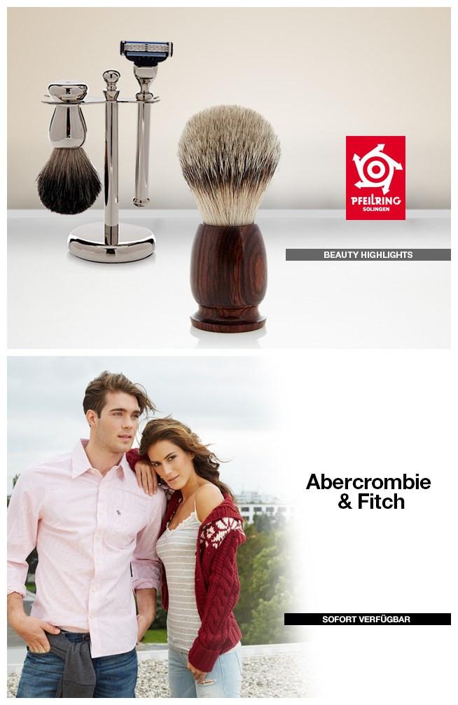 Abercrombie&Fitch 男女服装/Pfeilring金獾剃须产品