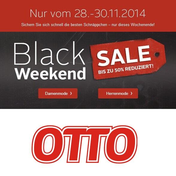 OTTO网站黑色星期五