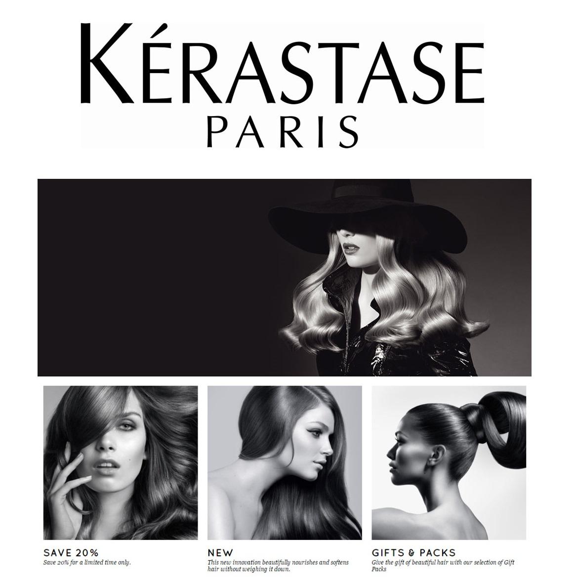 头发护理的权威 Kérastase卡诗护发系列
