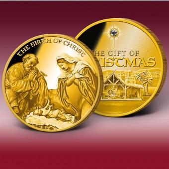 耶稣诞生纪念币