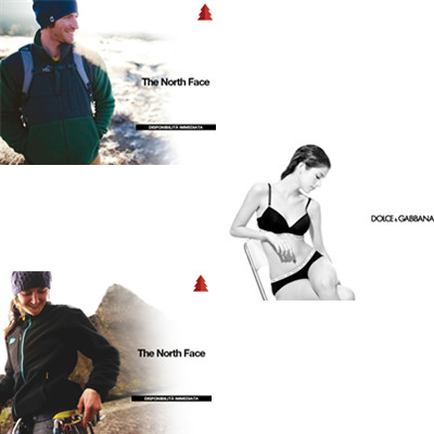 Dolce&Gabbana 女士内衣/The North Face 男女服装