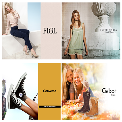 Gabor/Converse/ViveMaria/Figl品牌闪购