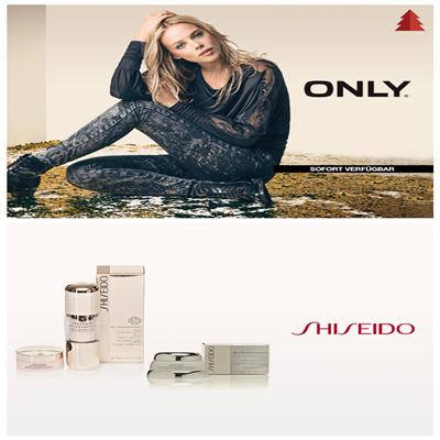 Only女装/Shiseido资生堂护肤品闪购