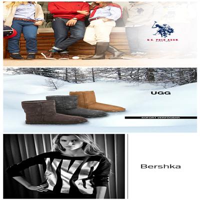 UGG雪地靴/Bershka女装/U.S.Polo男女鞋