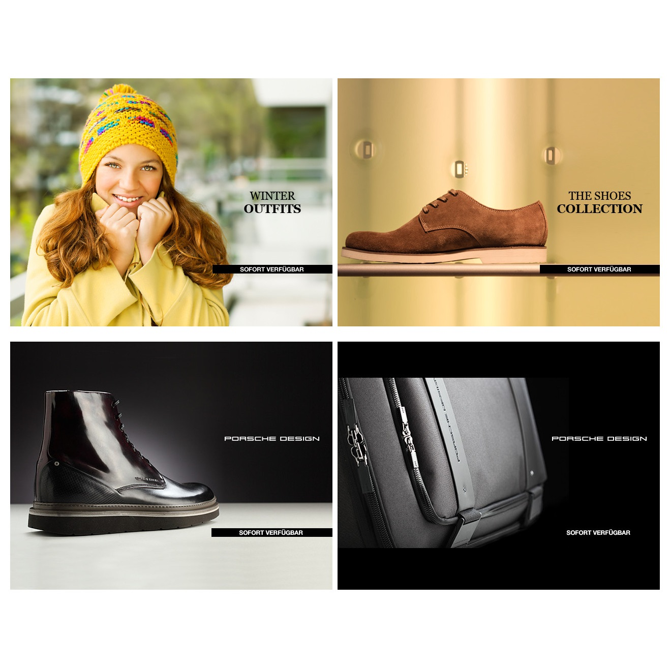 Porsche Design/The Shoes Collection优质男鞋/Winter Outfits冬装合辑