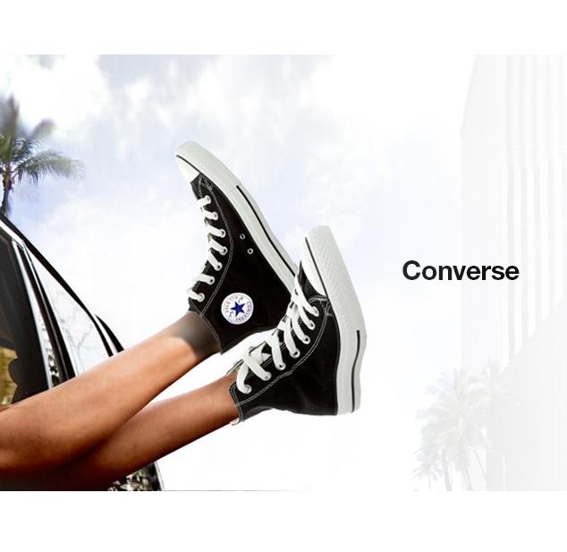 Converse 时尚帆布鞋