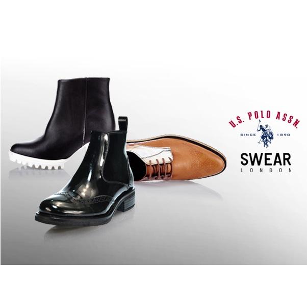 US Polo美国马球协会+英国Swear鞋履
