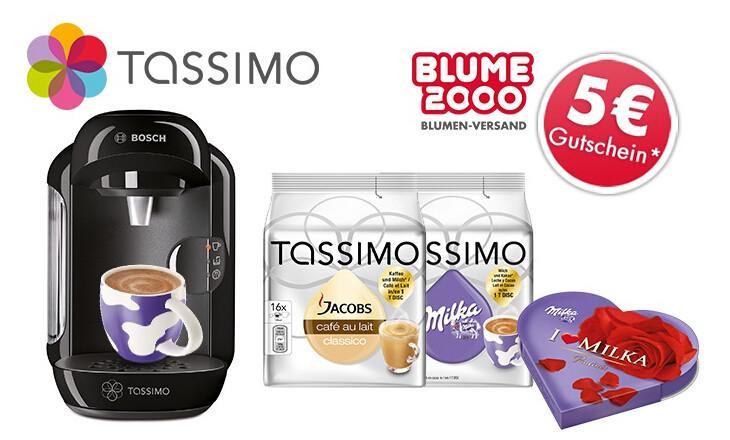 TASSIMO VIVY 咖啡机 + 2包Tassimo胶囊 + Blume2000 5欧优惠券