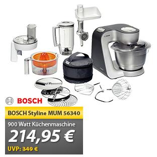 Bosch MUM56340 全能厨房一体机 今日特价214.95欧免邮