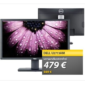 Dell U2713HM戴尔液晶显示屏