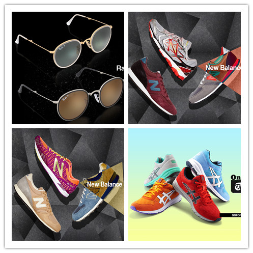 New Balance男女运动休闲鞋/Onitsuka Tiger鬼冢虎运动休闲鞋/Ray-Ban雷朋墨镜
