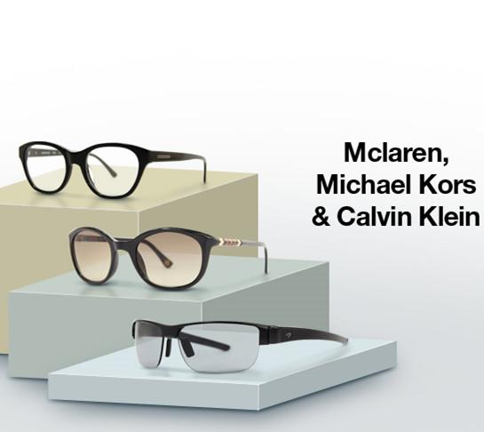 Mclaren、Michael Kors & Calvin Klein太阳镜闪购