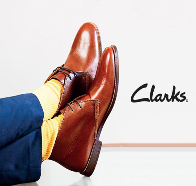 Clarks 男女休闲皮鞋