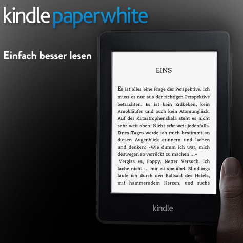 全新Kindle Paperwhite电子阅读器