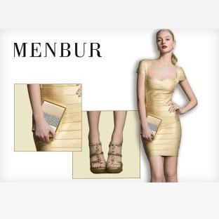 华丽无需高价-西班牙Menbur女式精美鞋包