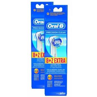 Oral-B Precision Clean博朗电动牙刷头20支