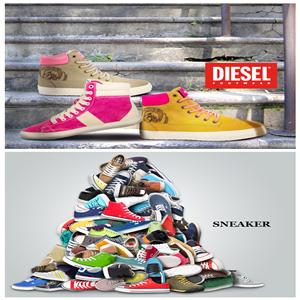 Diesel男女鞋/Sneaker众多潮牌女鞋闪购