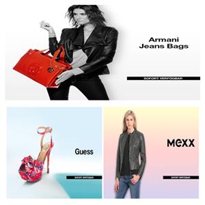 GUESS女鞋/Armani Jeans女包/Mexx时装