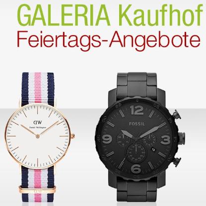 Galeria Kaufhof假日特惠活动