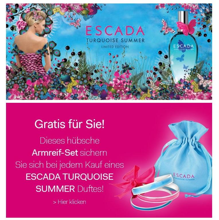 夏之湛蓝 Escada Turquoise Summer香水