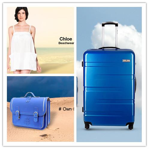 法国Platinium旅行箱包/Chloé度假风女装/Own stuff by Ruitertassen 手工包包联合特卖