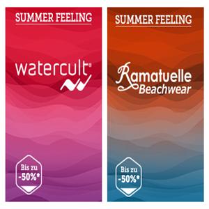 夏天的风景线 Watercult比基尼/Ramatuelle沙滩裤