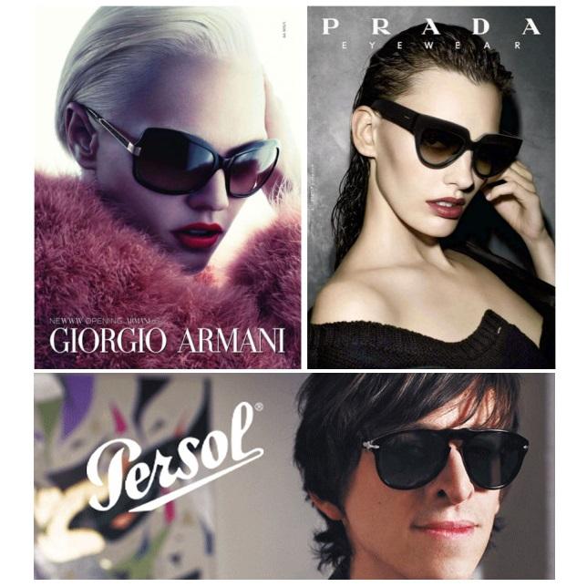 夏日焦点-ARMANI、PRADA等奢华墨镜
