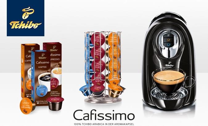 Tchibo Cafissimo 咖啡机+Cafissimo咖啡胶囊+咖啡胶囊存放架