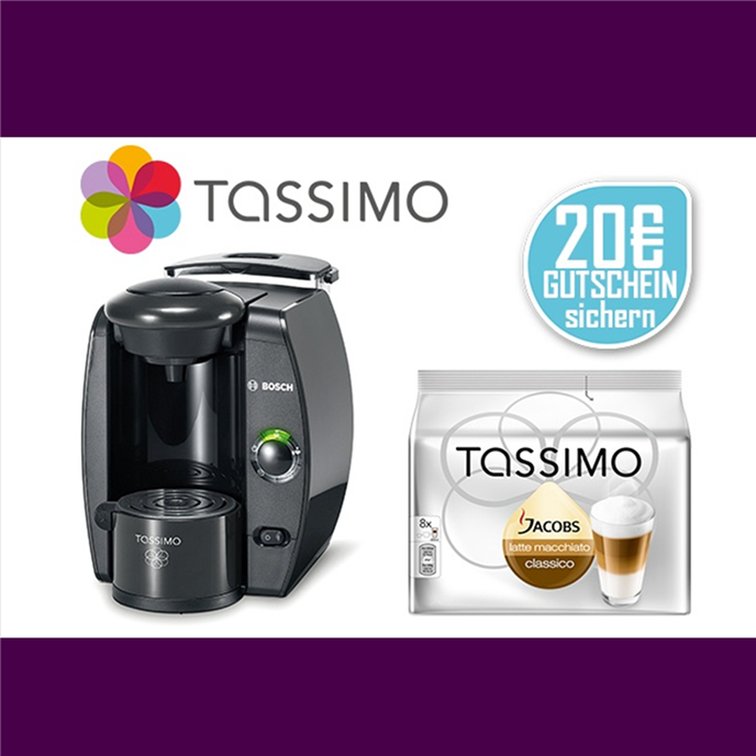 TASSIMO Fidelia T4 咖啡机+Jacobs咖啡胶囊+20欧代金劵