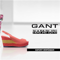 GANT AND NAPAPIJRI鞋包服饰特卖