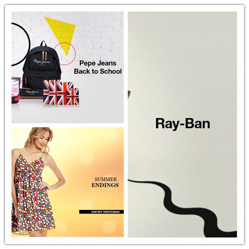 Ray-Ban太阳镜/抓住夏天的尾巴女装集合/PEPE JEANS包包