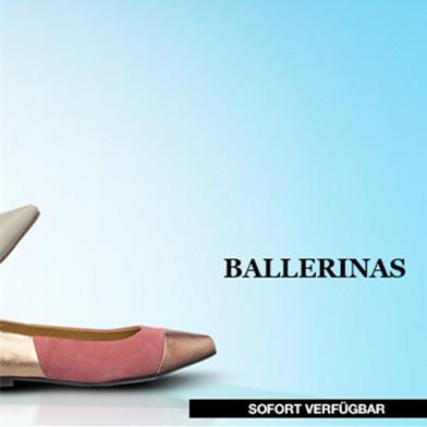 舒适亮眼芭蕾鞋