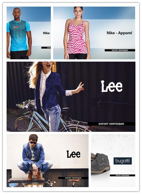LEE DENIM 男女牛仔裤/NIKE 男女运动/德国Bugatti 男女鞋包