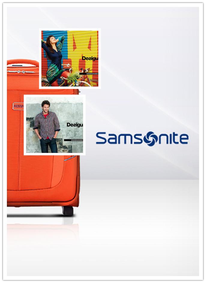 西班牙潮牌Desigual 男女装/Samsonite 新秀丽品质箱包